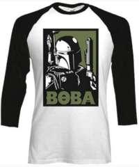 Tričko Star Wars – Boba Block, s dlouhým rukávem
