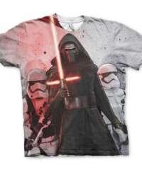 Tričko Star Wars – Kylo Ren s Troopery