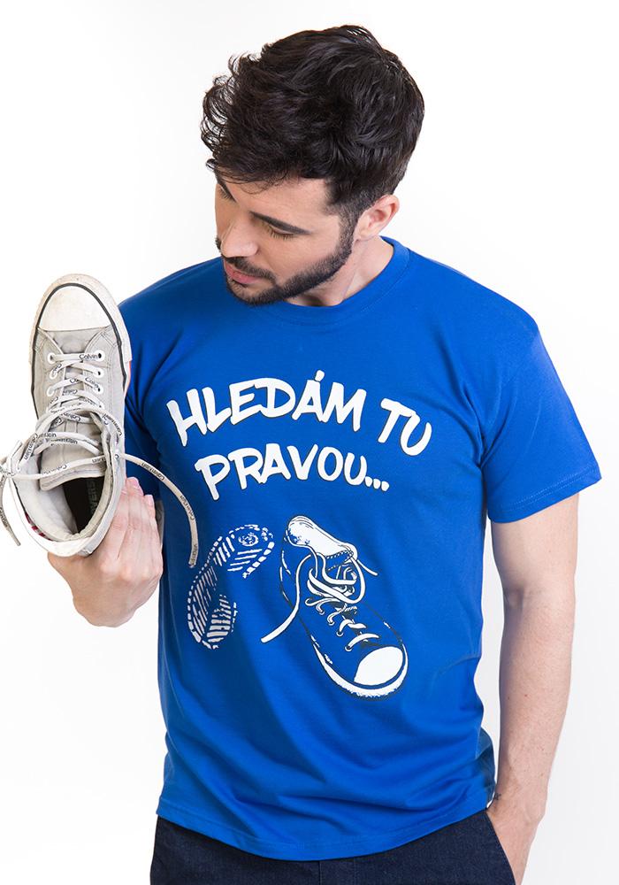 Hledám tu pravou pánské tričko