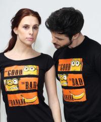 Hodný zlý a banán pánské tričko