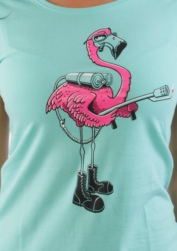 Plamenomeťák dámské tričko