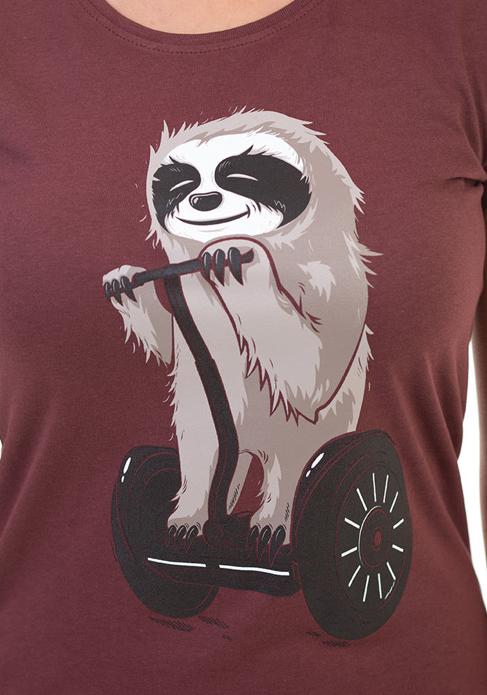 Lenochod dámské tričko