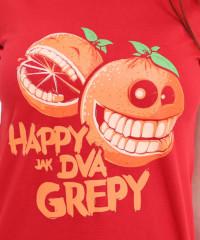 Happy grepy dámské tričko