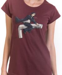 Harry na inbusu hnědé dámské tričko