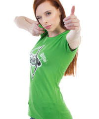 Shííp zelené dámské tričko