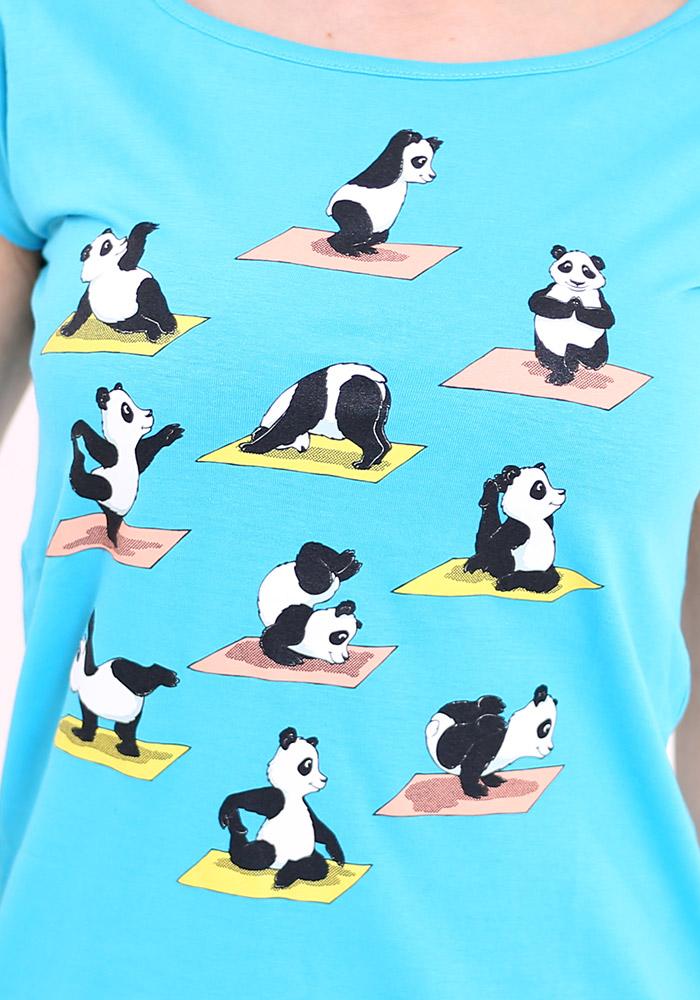 Pandí jóga dámské tričko