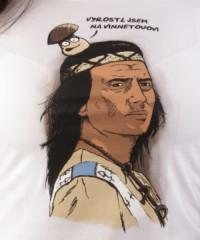 Vinnetou dámské tričko