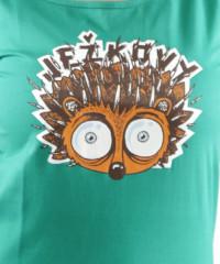 Ježkovy voči dámské tričko