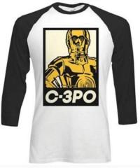 Tričko Star Wars – C-3PO, s dlouhým rukávem