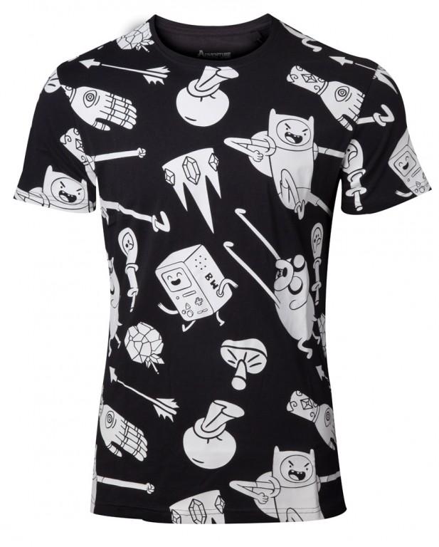 Filmové tričko Adventure Time  – All Characters