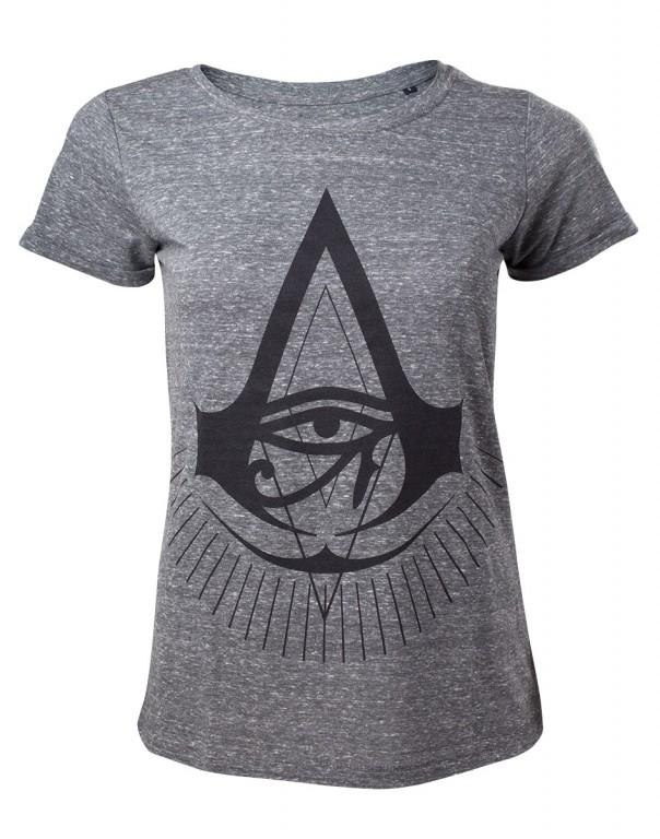 Herní tričko Assassins Creed Origins Dámské  – Black Logo
