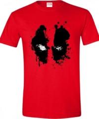 Filmové tričko Deadpool  – Face