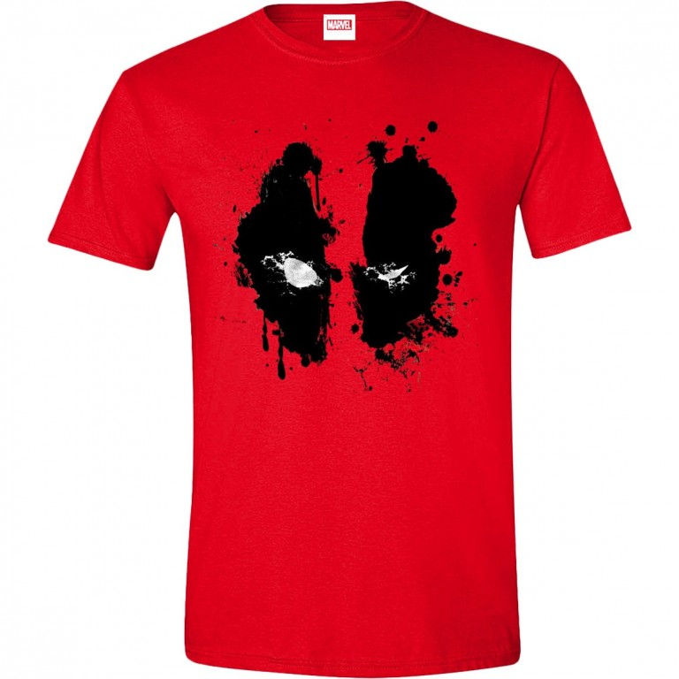 9e569129c602 Filmové tričko Deadpool - Face   od LevnéTrička.cz