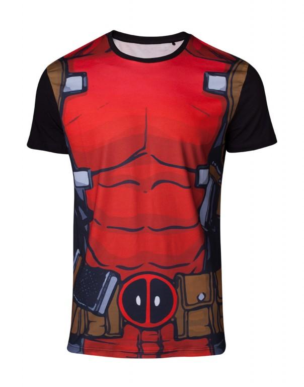 Filmové tričko Deadpool  – Sublimation Suit