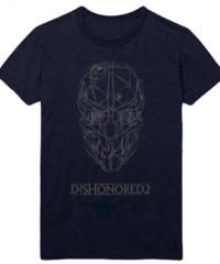 Herní tričko Dishonored 2  – Corvo Mask