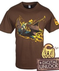 Herní tričko DOTA 2  Batrider+ Digital Unlock