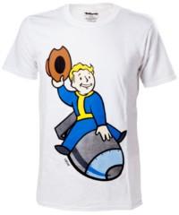 Herní tričko Fallout 4  – Vault Boy Bomber