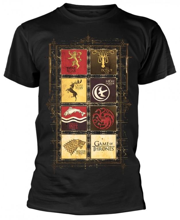 Filmové tričko Game of Thrones  – Block Sigils
