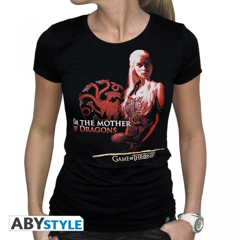 Filmové tričko Game of Thrones  Dámské – Mother of dragons