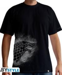 Filmové tričko Game of Thrones  – Stark sprayed