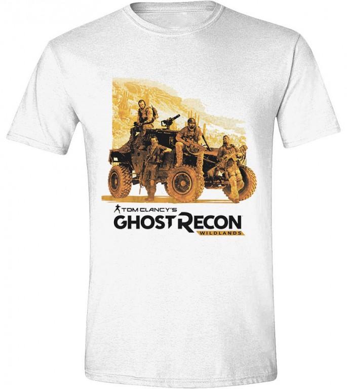 Herní tričko Ghost Recon Wildlands  – Ghosts Men White