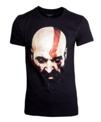 Herní tričko God of War  Kratos Face