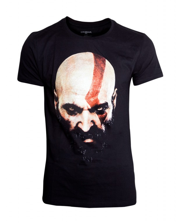 Herní tričko God of War  Kratos Face