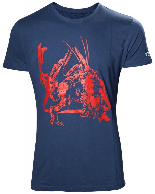 Herní tričko Horizon Zero Dawn  – Red Dinosaur Mech