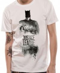 Filmové tričko Justice League  – Batman Silhouette
