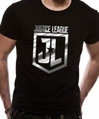 Filmové tričko Justice League  – Foil Logo