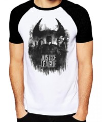 Filmové tričko Justice League  – Group And Logo