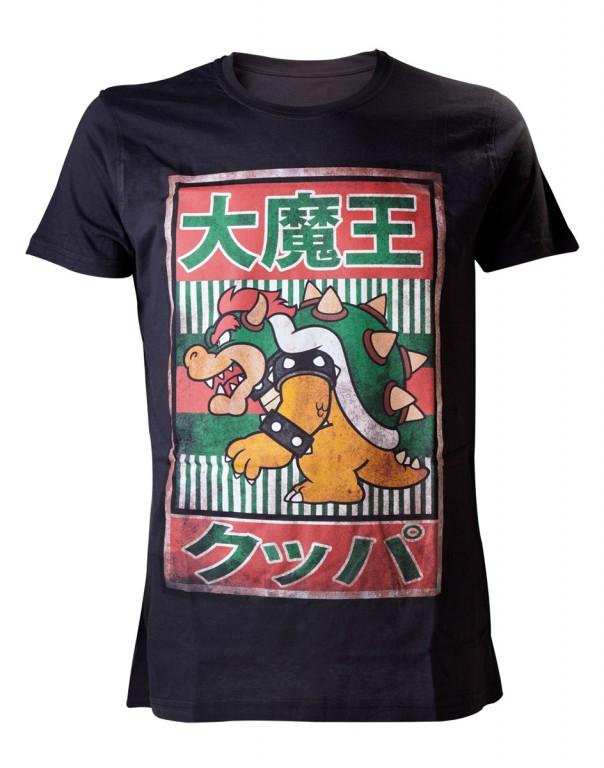 Herní tričko Nintendo  Bowser