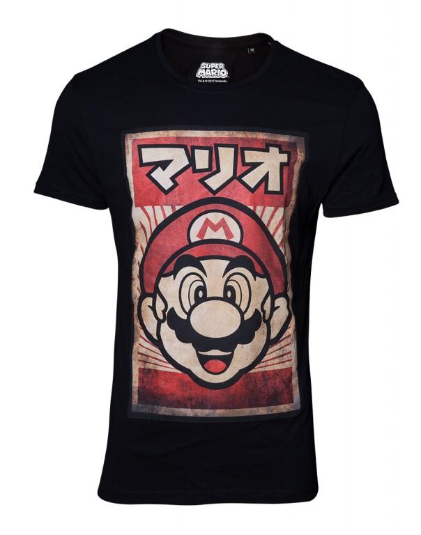 Herní tričko Nintendo  Mario