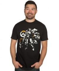 Herní tričko Overwatch  Justice Will Be Done