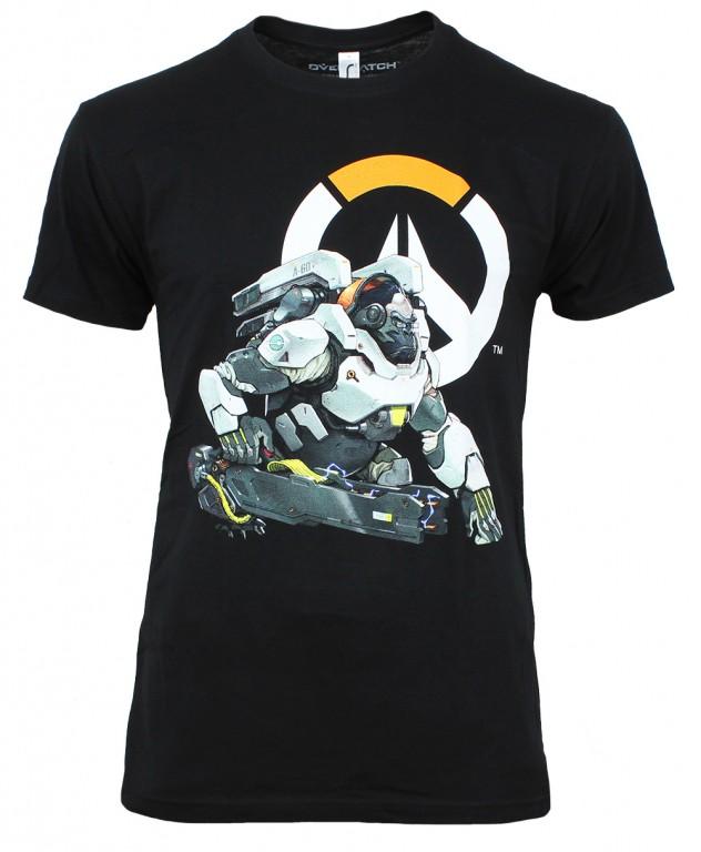 Herní tričko Overwatch  – Winston