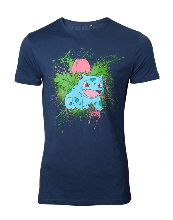 Herní tričko Pokemon  – Ivysaur Splatter