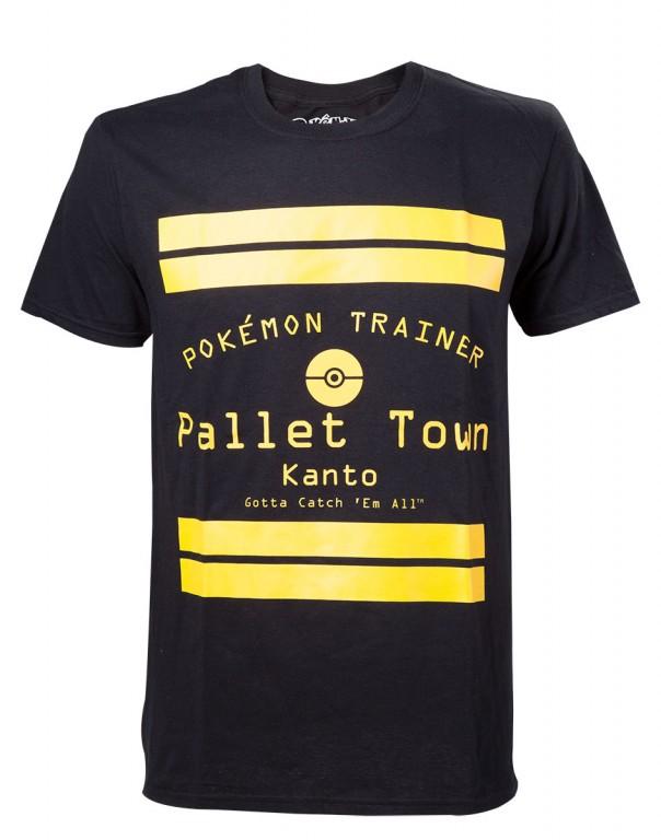 Herní tričko Pokemon  – Pallet Town
