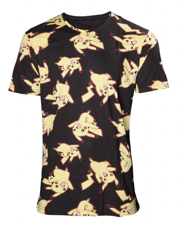 Herní tričko Pokemon  – Pikachu All Over Print