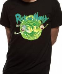 Filmové tričko Rick And Morty  – Black Portal