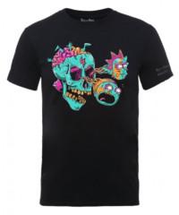 Filmové tričko Rick And Morty  – Eyeball Skull