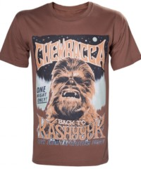 Filmové tričko Star Wars  – Chewbacca Poster