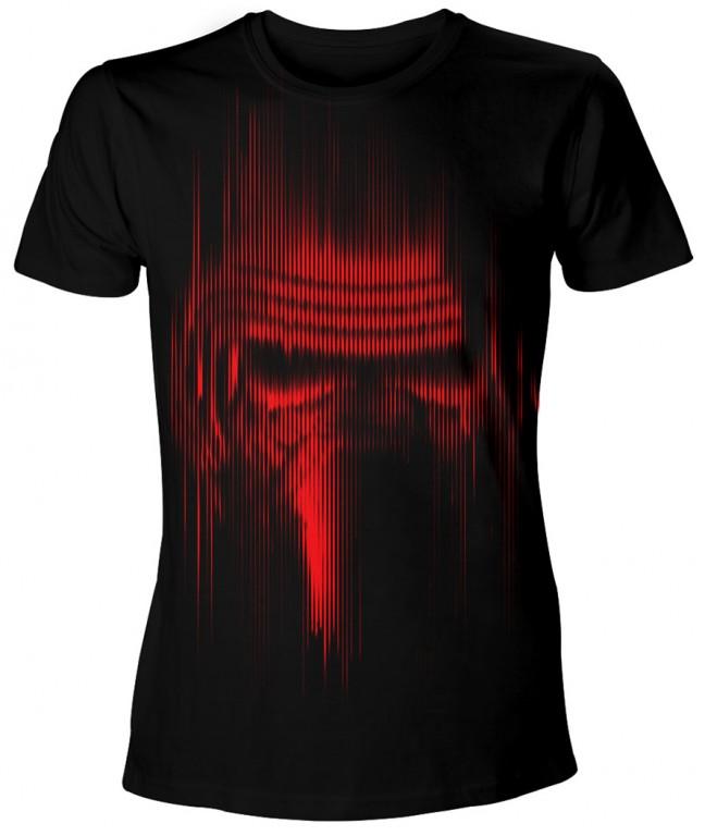 Filmové tričko Star Wars  – Faded Kylo Ren
