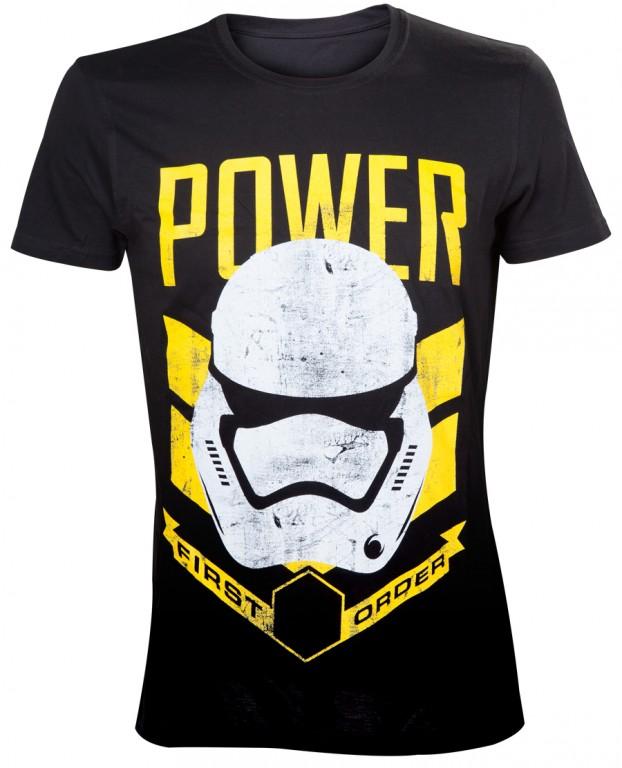 cc0e95cf869 Filmové tričko Star Wars - Stormtrooper Power   od LevnéTrička.cz