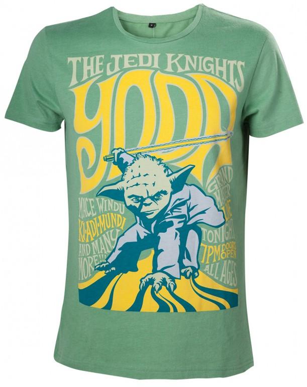 Filmové tričko Star Wars  – Yoda the Jedi Knight