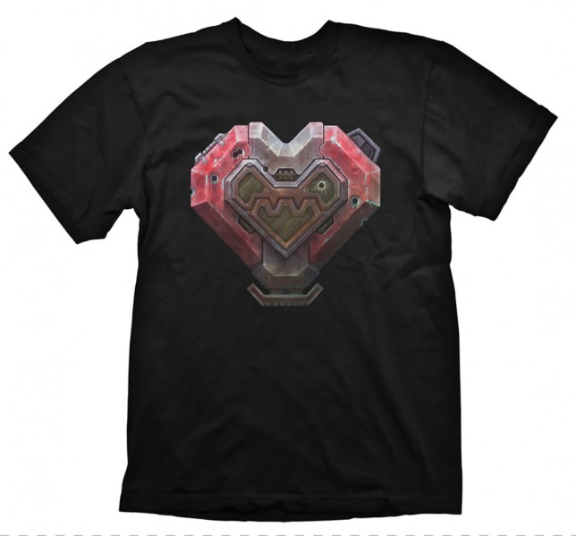 Herní tričko Starcraft 2  – Terran Heart