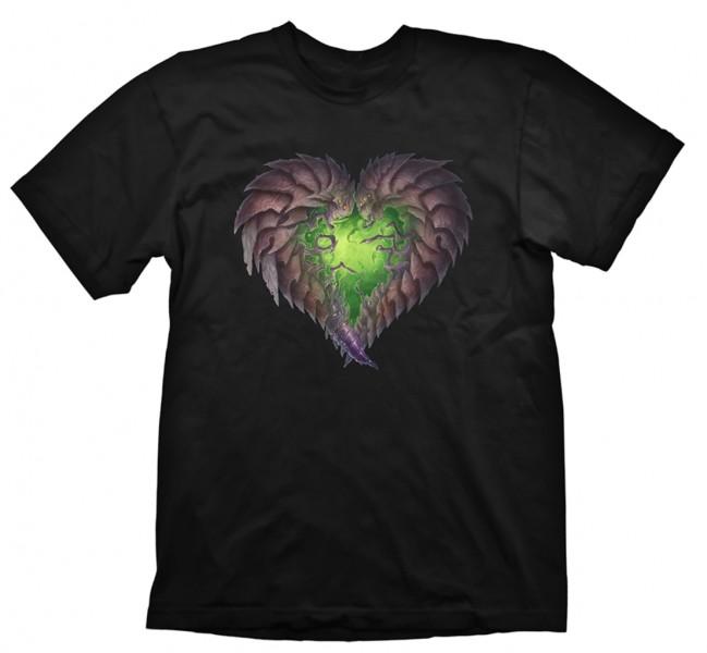 Herní tričko Starcraft 2  – Zerg Heart