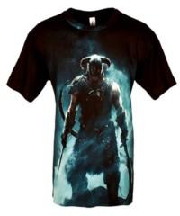 Herní tričko The Elder Scrolls V: Skyrim  – Dragonborn
