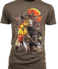Herní tričko The Witcher 3  – Monster Slayer