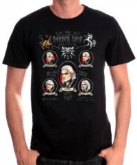 Herní tričko Witcher 3  – Shave and Haircut