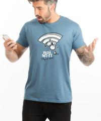 Padá wi-fi pánské tričko – nový střih